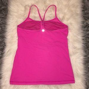 Lululemon Power Y Pink Yoga Tank
